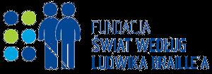 Logo Fundacji Świat według Ludwika Braille'a