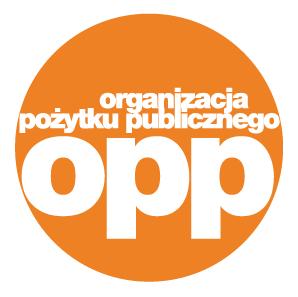 Logo Ogranizacji Pożytku Publicznego - kliknij, aby znaleźć nas w Wykazie OPP - 1% Narodowego Instytutu Wolności